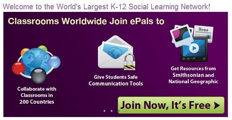 ePals Global Community | 21st Century Tools for Teaching-People and Learners | Scoop.it