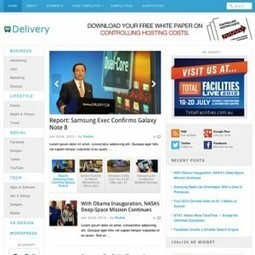 Delivery Wordpress Theme - Free Download - Theme-Junkie | Internet topic | Scoop.it