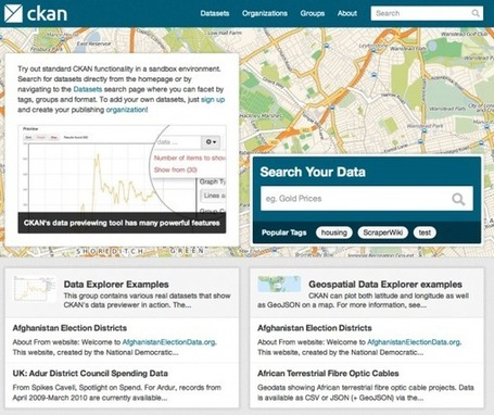 CKAN API: Open Data In The Hands of The Masses | Open Knowledge | Scoop.it
