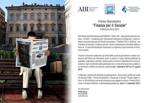 Premio ABI FIABA FEDUF | Business Plan, Start Up e Creazione di Impresa | Scoop.it