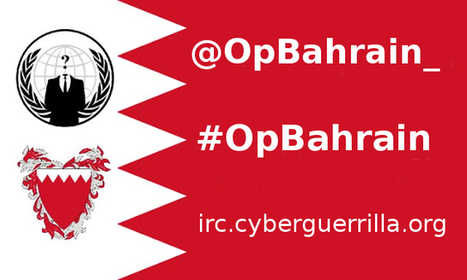 Anonymous #OpBahrain starts, will attack various websites of the regime - Hackers News Bulletin | Anonymous Canada International news | Scoop.it