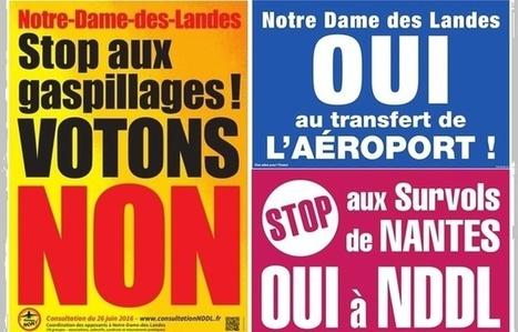 Notre-Dame-des-Landes: Un mois avant le référendum, la campagne est bien lancée | Planete DDurable | Scoop.it