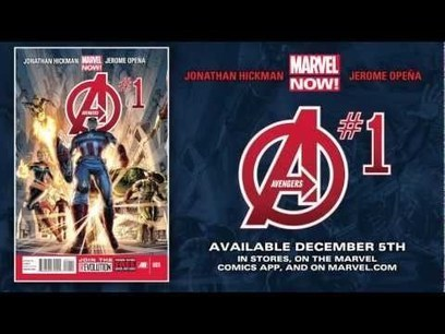 Video Trailer: Avengers #1 by Jonathan Hickman and Jerome Opena | Comic Books | Scoop.it