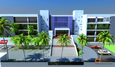 How Construction Companies use Architectural Exterior 3D Rendering for Business Benefits? | CAD Resolution | Scoop.it