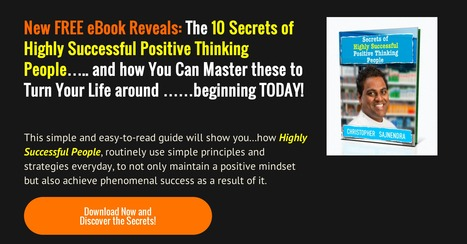 Download Your Free Copy of Secrets of Highly Successful Positive Thinking People | Secrets of Highly Successful People | Scoop.it