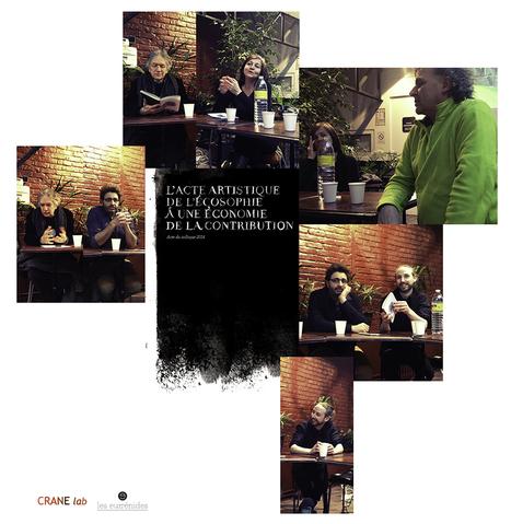 Présentation du livre collectif « l'Acte artistique - de l'écosophie à une économie de la contribution » aux Éditions Les Euménides | CRANE  lab | Scoop.it