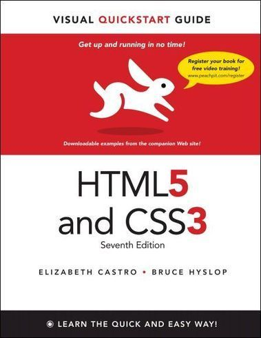 HTML5 and CSS3 Visual QuickStart Guide (7th Edition) Free ... | web design | Scoop.it