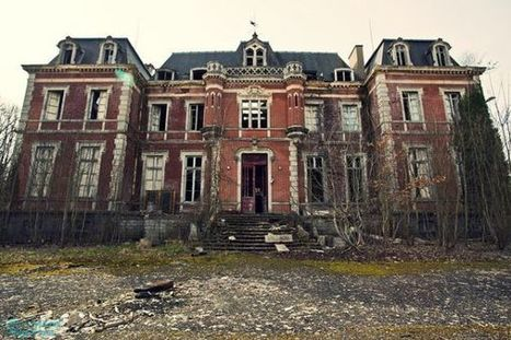 Abandoned Mansion in Auvergne, France | Urban Ghosts | | Modern Ruins | Scoop.it