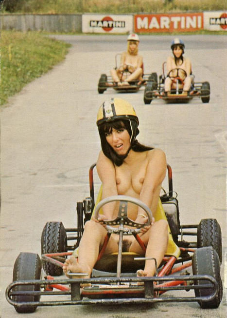 Nude (Vintage) Go-Cart Racing | Sex History | Scoop.it
