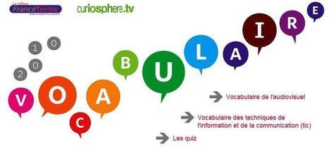 Vocabulaire numérique et audiovisuel : plus de 650 termes et 2 quiz | GA | Scoop.it