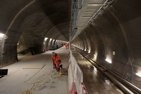 Exploring the Elizabeth line, one of the world's largest construction projects | Tudo o resto | Scoop.it