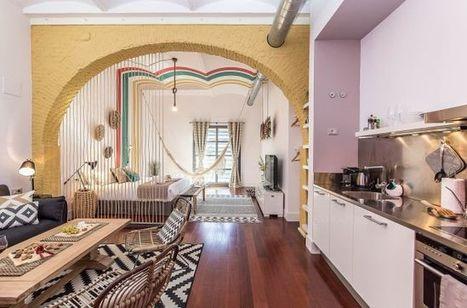 Un mini loft pour quelques jours à Barcelone | PLANETE DECO a homes world | décoration interieure | Scoop.it