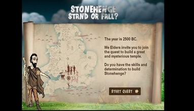 Stonehenge Game | English Heritage | Teaching history and archaeology to kids | Scoop.it