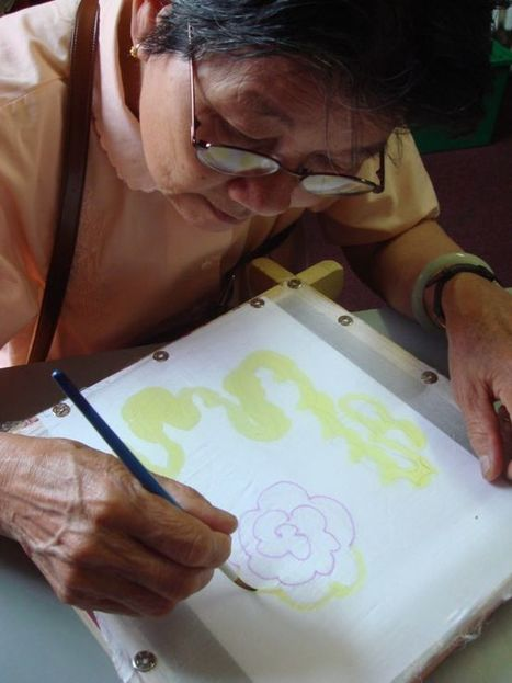 Chinese Women's Group create textiles | Creatively Aging | Scoop.it