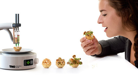 Movie: Chloé Rutzerveld on her 3D-printed food Edible Growth | Design, industrie, architecture, innovation, etc. | Scoop.it