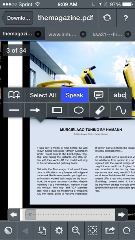 GoodReader's text-to-speech lets you turn any PDF or TXT document into an audiobook -- AppAdvice | iPad learning | Scoop.it