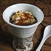 Sauce de soja au service du mets sucré * Caramel beurre salé et ses perles de tapioca au lait - La Table de Diogène est Ronde | asian food trends | Scoop.it