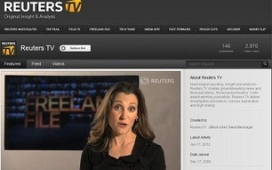 Reuters Expands its Original Content on YouTube | Online Journalism & Journalism in Digital Age | Scoop.it