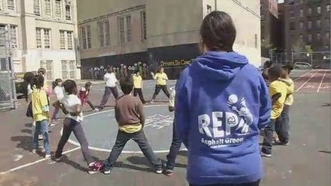 Nonprofit Re-Purposes Recess Chaos to Encourage Fitness - NY1 | Fitness | Scoop.it