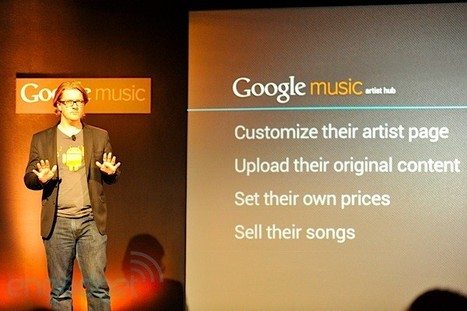 Google Music Artist Hub helps musicians promote, sell music - Engadget | Arts Independent | Scoop.it