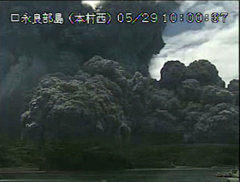 ​Japan volcano eruption triggers highest alert, locals' evacuation | Japan Tsunami | Scoop.it