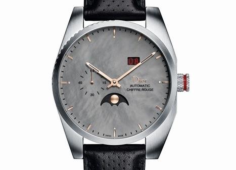 Dior Chiffre Rouge C03 : phase de lune, grande date, petite seconde et cadran de nacre grise | Montre, Horlogerie,Chronos | Scoop.it