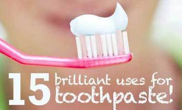 15 Brilliant Uses for Toothpaste | Dental Hygiene | Scoop.it