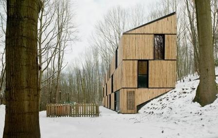 Casa de Bambú de bajo consumo de energía / AST 77 Architecten - Plataforma Arquitectura | Jardines Verticales y azoteas verdes. | Scoop.it