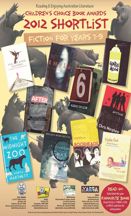 koalansw - Kids Own Australian Literature Awards | Readers Advisory For Secondary Schools | Scoop.it