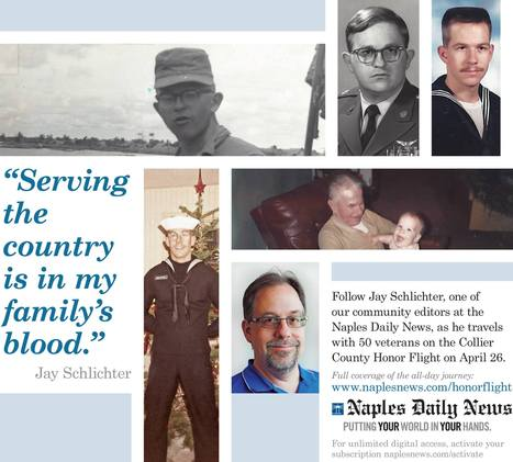 Honored to fly: Military roots inspire Collier Citizen editor to document Honor Flight | Florida's Backyard History | Scoop.it