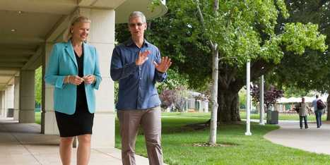 Apple And IBM Announce Huge Partnership For Large Business Customers   Social&Asocial   Scoop.it