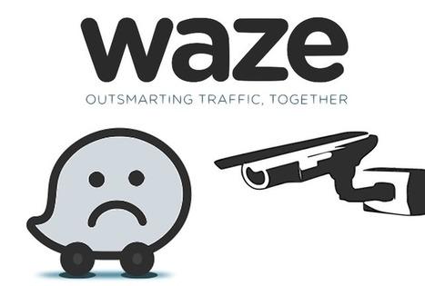 Waze : souriez, vous êtes hackés ! | Freewares | Scoop.it
