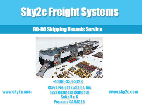 Ro Ro Service, Rollon~ rolloff Shipping   Commercial Cargo Services Fremont   Scoop.it