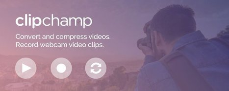 Clipchamp Herramienta para comprimir videos | Educacion, ecologia y TIC | Scoop.it