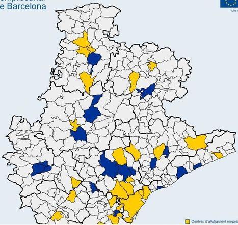 Mapa virtual d'allotjament empresarial de les comarques de Barcelona | POMArt Disseny | Scoop.it