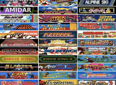 Internet Arcade : Free Software : Download & Streaming | Digital Delights - Avatars, Virtual Worlds, Gamification | Scoop.it