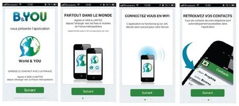 B&You lance World & You : appels et SMS gratuits en Wi-Fi depuis l'étranger vers la France | Geeks | Scoop.it