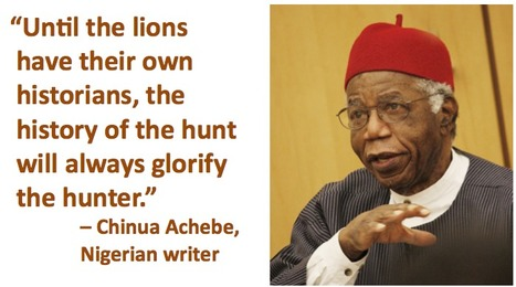 Chinua Achebe quote | Language and culture | Scoop.it