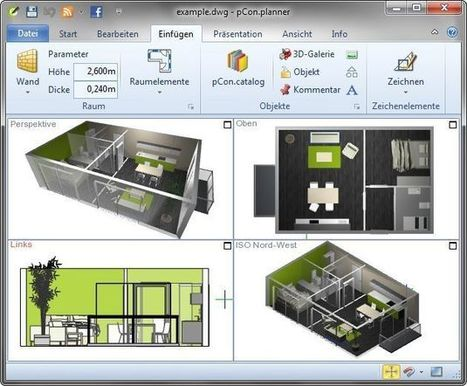 pCon.planner, software libre para diseño de interiores en 3D | tecno4 | Scoop.it