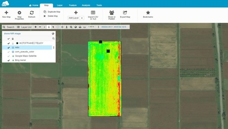 Agriculture Case Study: Using drones and GIS Cloud for precision farming in Greece | GIS Cloud | Drone in Agriculture | Scoop.it
