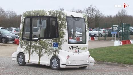 Vipa Fleet : le minibus sans chauffeur | 6eme | Scoop.it