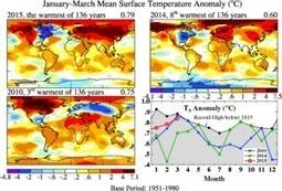 Climat : 2015 démarre très chaud | EntomoNews | Scoop.it