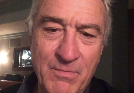 Robert De Niro met en ligne son premier Vine ! | VIKE - Videos I Like | Scoop.it
