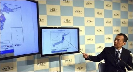 Petit tsunami après un puissant séisme | Japan Tsunami | Scoop.it
