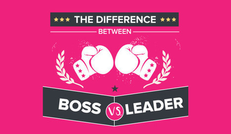What's The Difference Between a Boss and a Leader? | New Leadership | Scoop.it