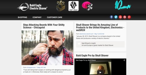 Skullshaver | Showcase of custom topics | Scoop.it