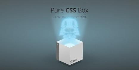 Inspiration pour les intégrateurs #71 : La puissance du CSS | Web Dev News | Scoop.it