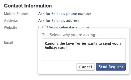 Here's a New Way Facebook Is Pushing You to Share Your Contact Information | SocialMoMojo Web | Scoop.it