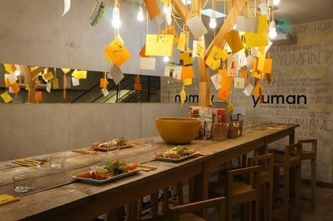 Yuman : le restaurant éclairé qui s'agrandit avec vous sur BlueBees | Nouveaux paradigmes | Scoop.it