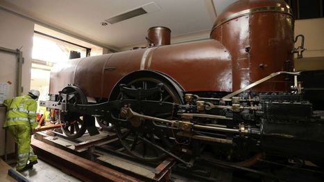 """Pays de Waes"", la plus vieille locomotive de Belgique au Train World - RTBF Societe 
